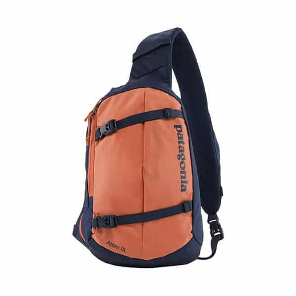 Patagonia Atom Sling Backpack on white background