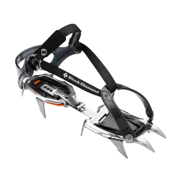 Black Diamond Contact Crampons on white background