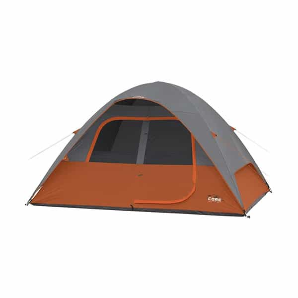 CORE 6 Person Dome Tent – 11′ x 9′ on white background