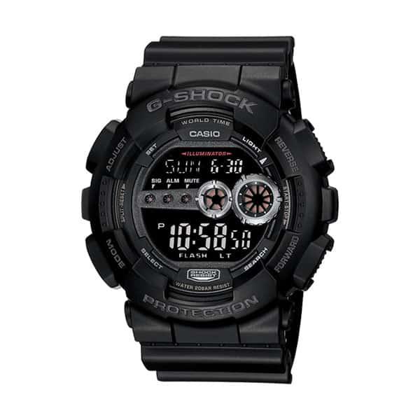Casio GD100-1BCR G-Shock Watch on white background