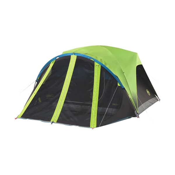 Coleman Carlsbad Tent with Screen Room on white background