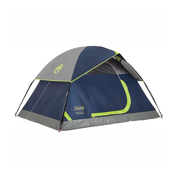Coleman Dome Tent for Camping on white background