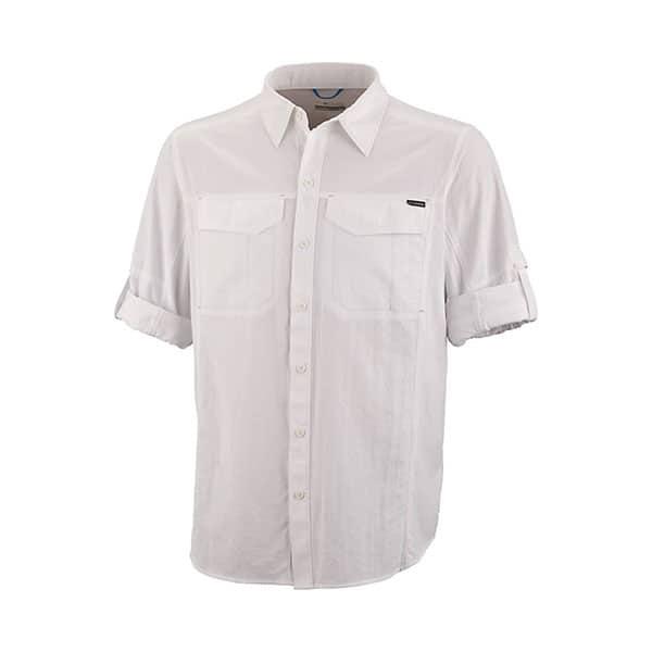 Columbia Men's Silver Ridge Long-Sleeve Shirt on white background