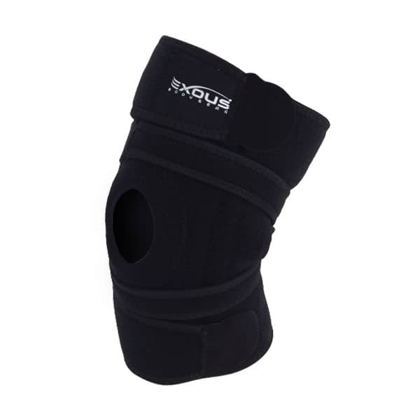 EXOUS Knee Brace Support Protector on white background