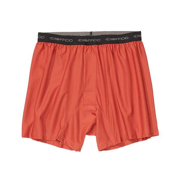 ExOfficio Mens Performance Underwear Give-N-Go Boxer Brief on white background