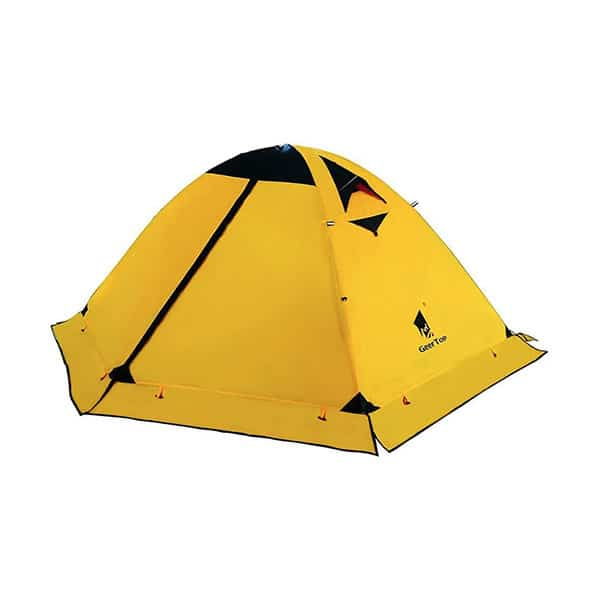 Geertop 2-Person 4-Season Backpacking Tent on white background