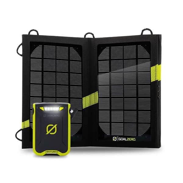 Goal Zero Venture 30 Solar Recharging Kit with Nomad 7 Solar Panel