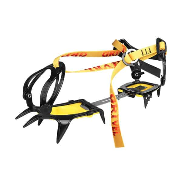 Grivel G10 Crampon on white background