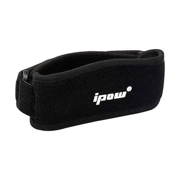 IPOW 2 Pack Thickened Pad & Wide Patella Knee Strap on white background