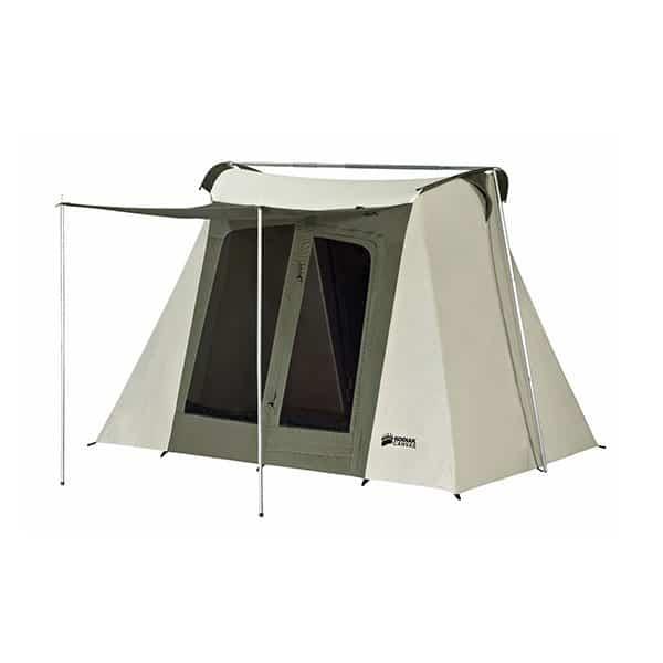 Kodiak Canvas Flex-Bow 4-Person Canvas Tent on white background
