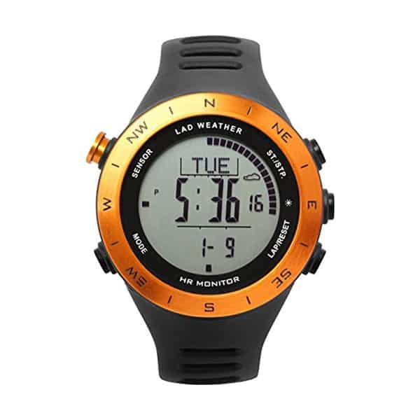 LAD Weather German Sensor Sport Watch on white background
