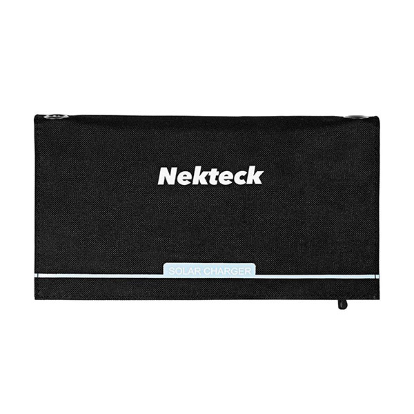 Nekteck 21W Solar Charger with 2-Port USB Charger