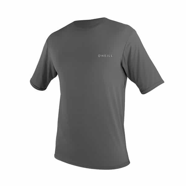 O'Neill Men's Basic Skins Short Sleeve Sun Shirt on white background
