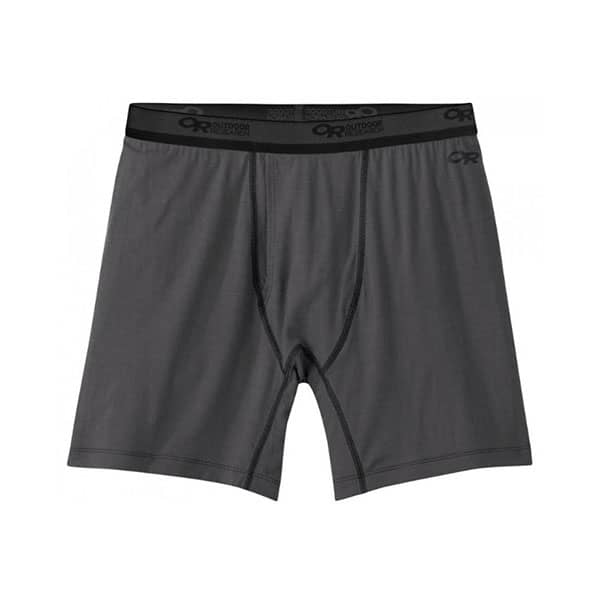 Outdoor Research Men's Alpine Onset Boxer Briefs on white background