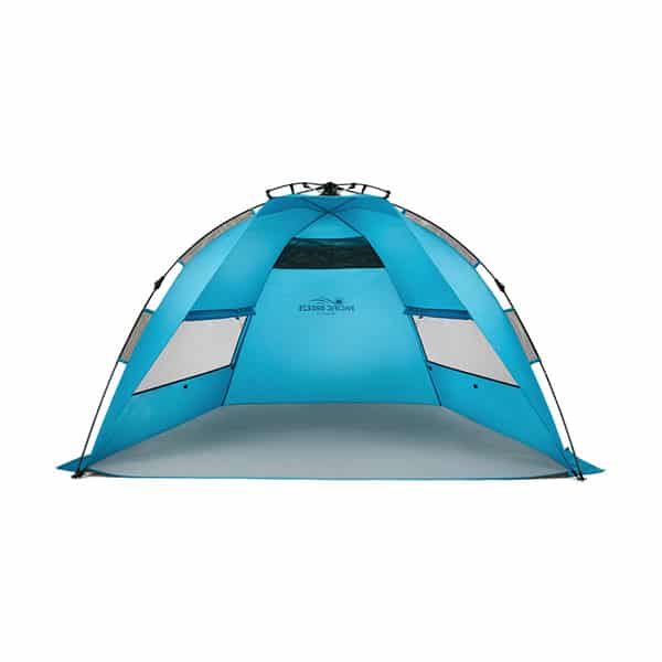 Pacific Breeze Easy Setup Beach Tent on white background