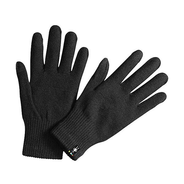SmartWool Liner Gloves on white background