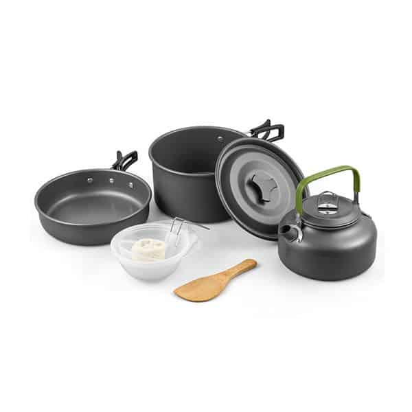 Terra Hiker Camping Cookware on white background