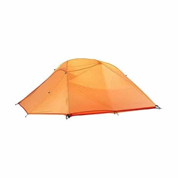 Weanas 1 2 3 Person 3 Seasons Double Layer Backpacking Tent on white background