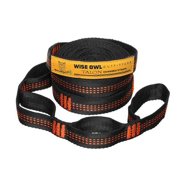 Wise Owl Outfitters XL Hammock Straps on white background
