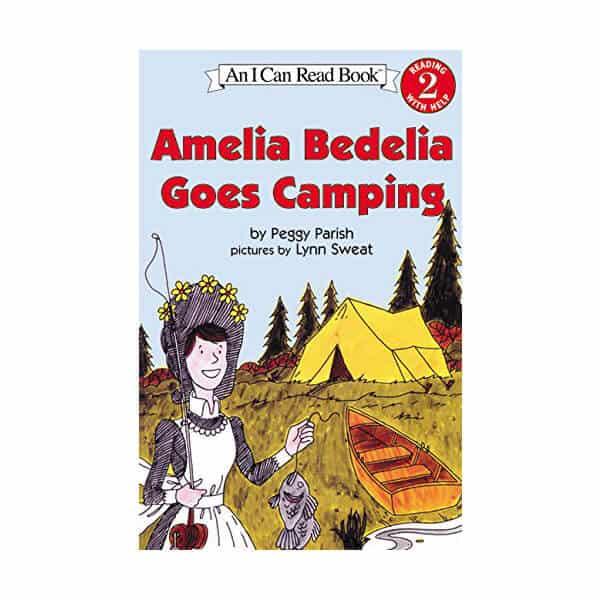 Amelia Bedelia Goes Camping - Peggy Parish on white background