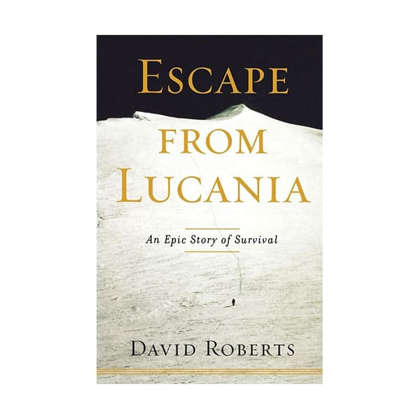 Escape From Lucania - David Roberts on white background