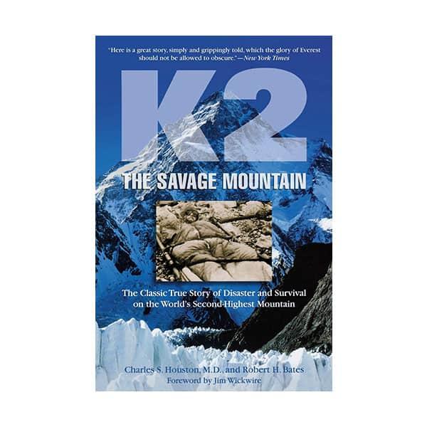 K2: The Savage Mountain - Charles Houston on white background