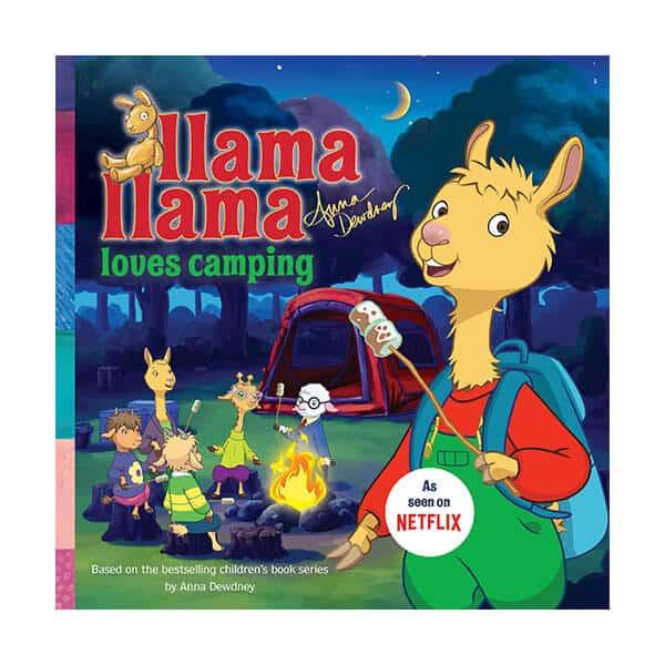 Llama Llama Loves Camping - Anna Dewdney on white background