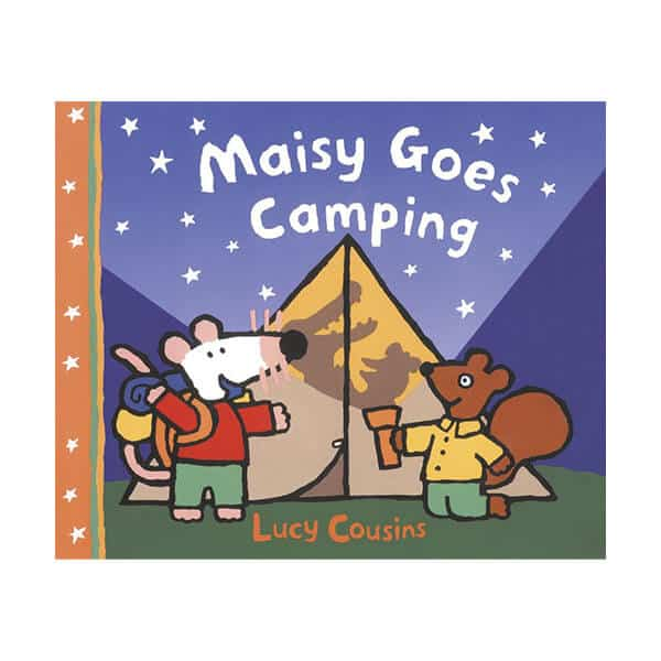 Maisy Goes Camping - Lucy Cousins on white background