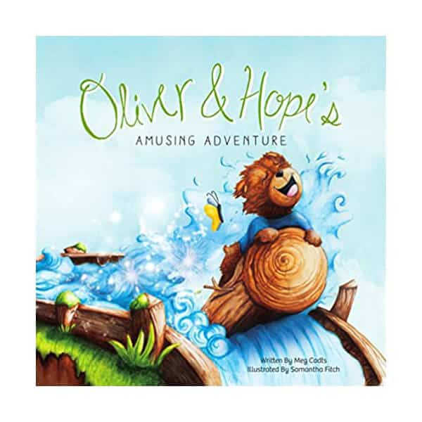 Oliver & Hope's Adventure Under The Stars - Meg Cadts on white background