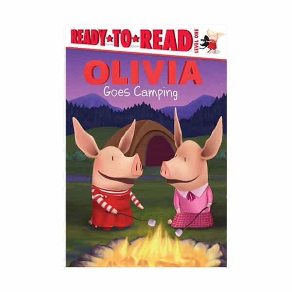 Olivia Goes Camping - Alex Harvey on white background