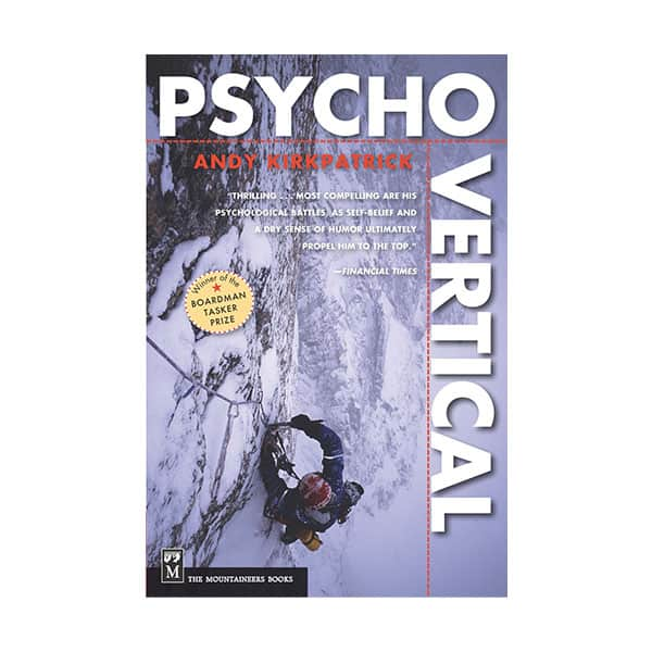 Psychovertical - Andy Kirkpatrick on white background