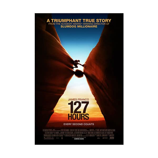 127 Hours movie's cover on white background