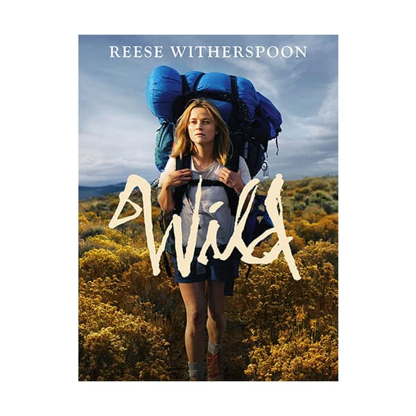 Wild movie's cover on white background