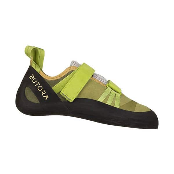 Butora Endaevor Moss climbing shoes for wide feet on white background