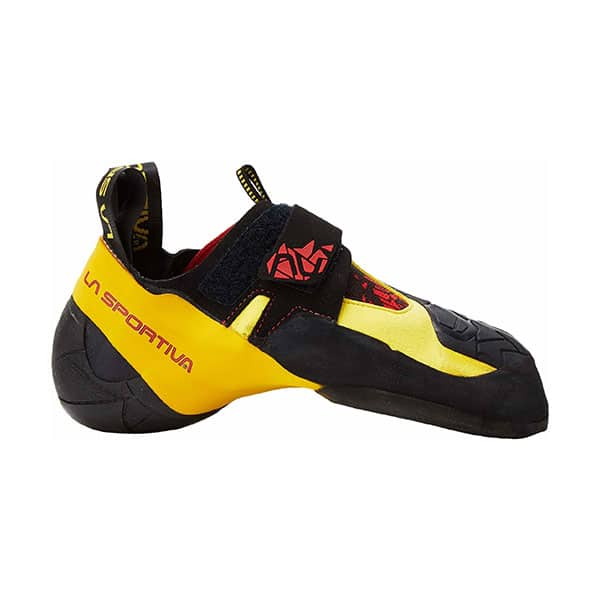 La Sportiva Skwama climbing shoes for wide feet on white background