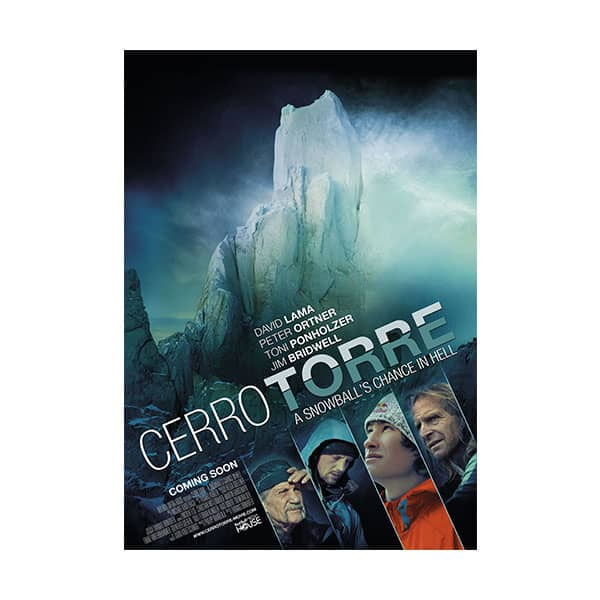 Cerro Torre: A Snowball's Chance in Hell documentary cover on white background