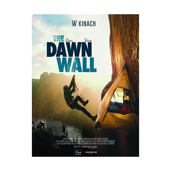 The Dawn Wall documentary cover on white background