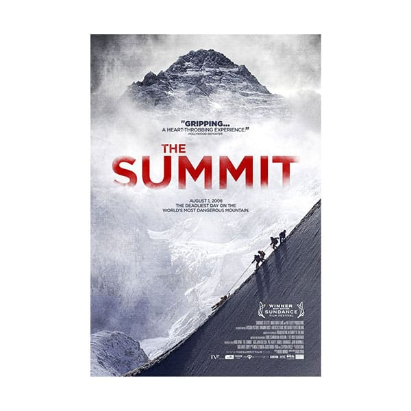The Summit documentary cover on white background