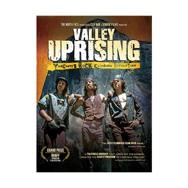 Valley Uprising documentary cover on white background