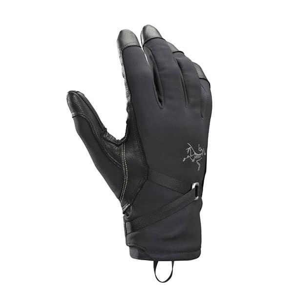 Arc'teryx Alpha SL Gloves on white background