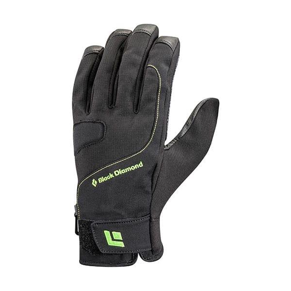 Black Diamond Torque Gloves on white background