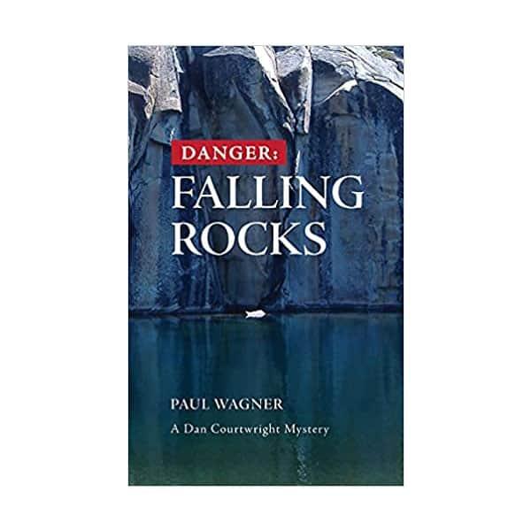 Danger: Falling Rocks - Paul Wagner on white background